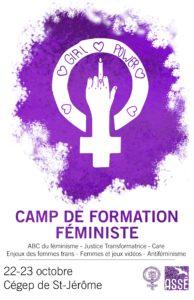 Camp de formation féministe de l'ASSÉ
